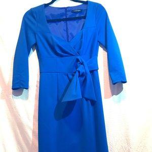 Nanette Lepore Royal Blue Neck Tie Waist